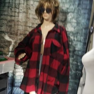 Wrangler HUGE fleece overshirt